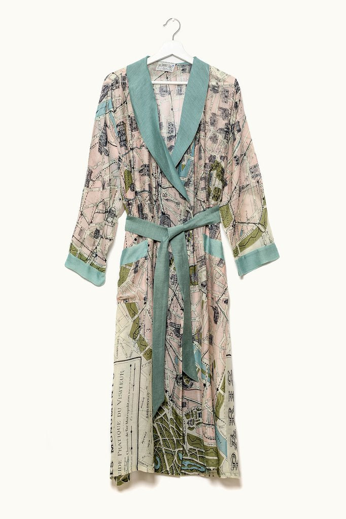 Paris Dressing Gown