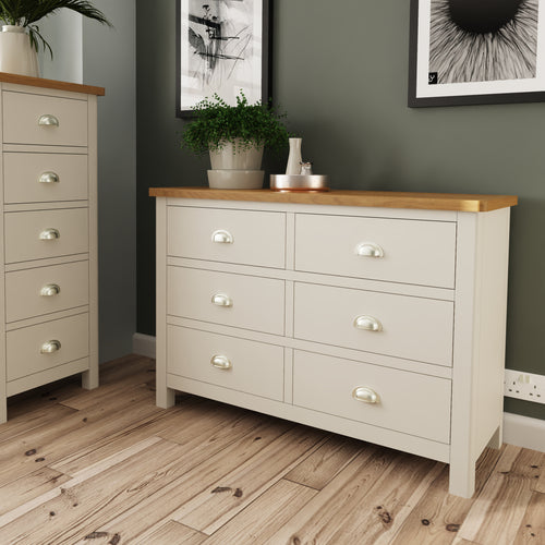 Dove Grey 6 Drawer Chest