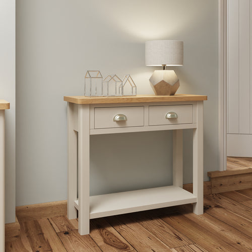 Dove Grey Console Table