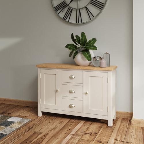 Dove Grey Large Sideboard