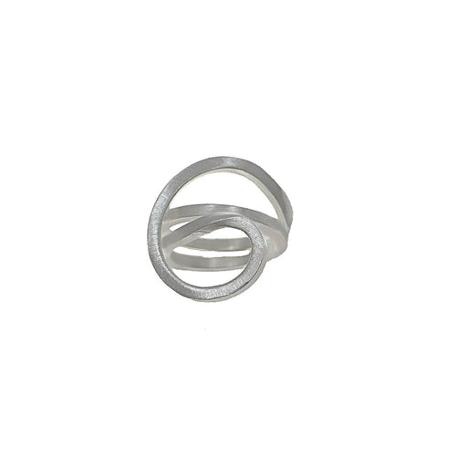 Silver Tangle Ring