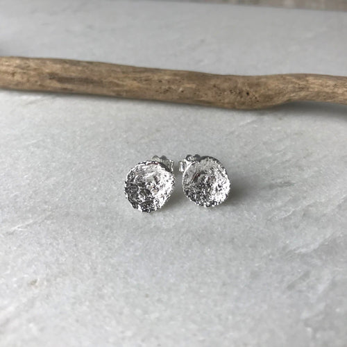 Small Silver Stud Earrings