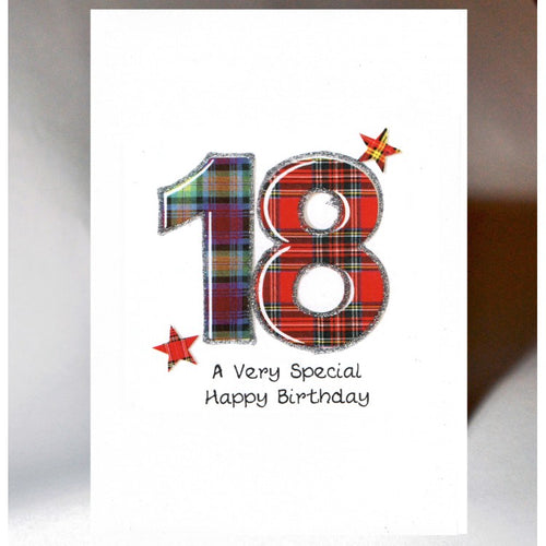 18 Birthday Card