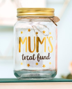 Mum's Treat Fund Jar