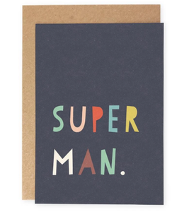 Super Man Card