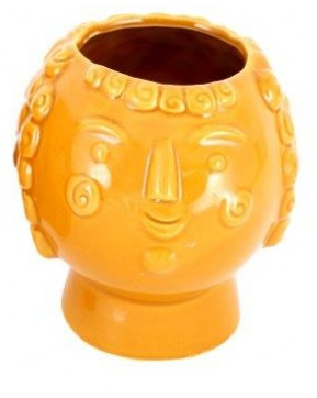 Mrs Mustard Candle Pot