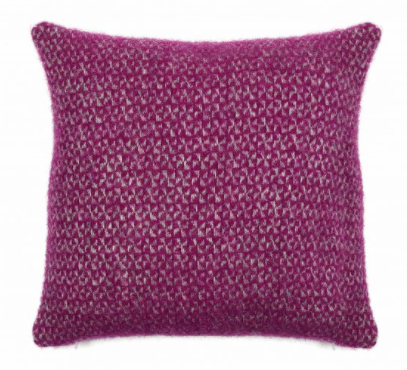 Silver & Grape Illusion Cushion