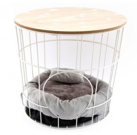 Pet Bed Basket Table