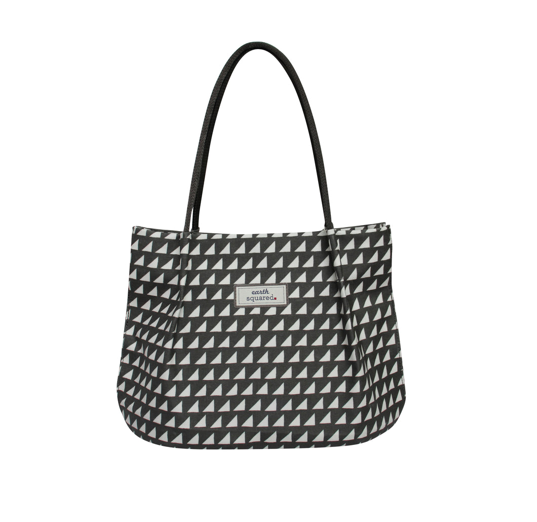 Grey Triangles Freya Bag