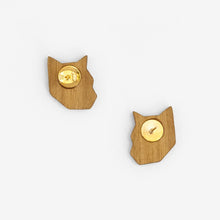 Load image into Gallery viewer, Tiger Stud Earrings
