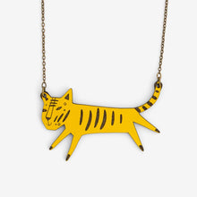 Load image into Gallery viewer, Wooden Tiger Necklace