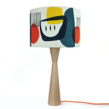Load image into Gallery viewer, Troubadour Blue - 30 cm Lamp Shade