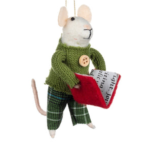Literary Tartan Trews Mouse