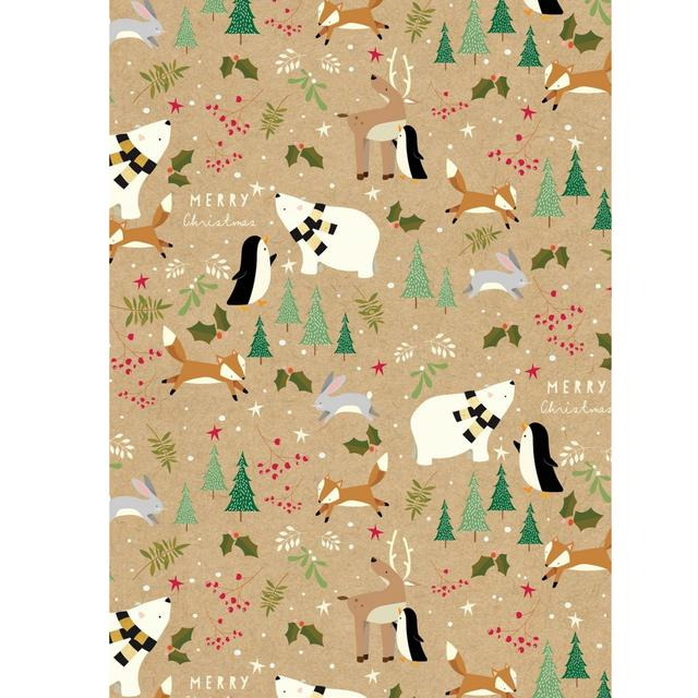 Animal Christmas Wrap