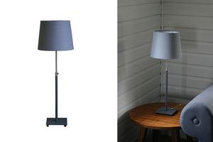 Grey Baltic Adjustable Table Lamp