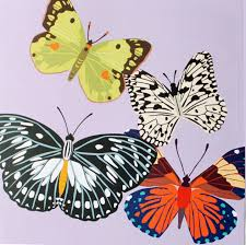 Four Butterflies Pop Up Card