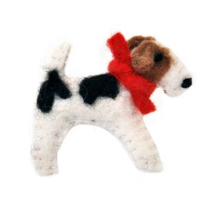 Fox Terrier Brooch
