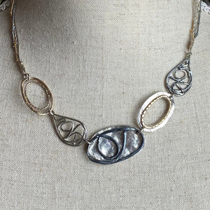 Mixed Metals Necklace
