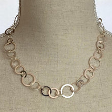 Load image into Gallery viewer, Silver Circles Necklace