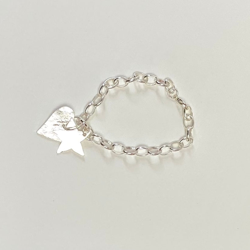 Heart And Star Bangle