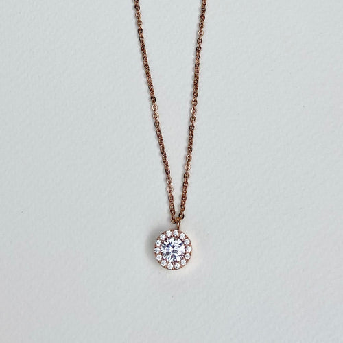 Thassos Rose Gold Necklace