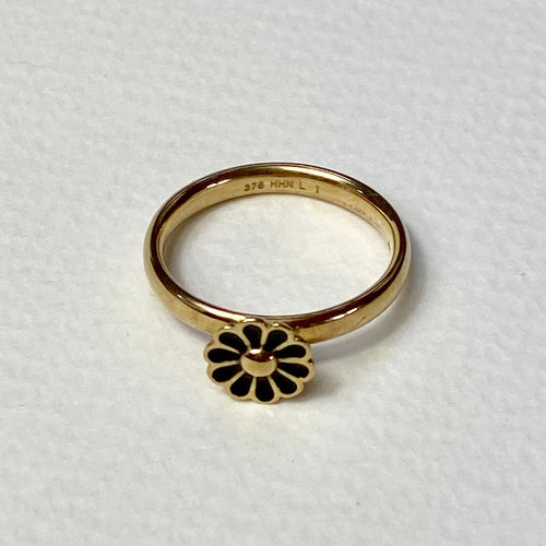 14Ct Solid Gold Ring with Daisy