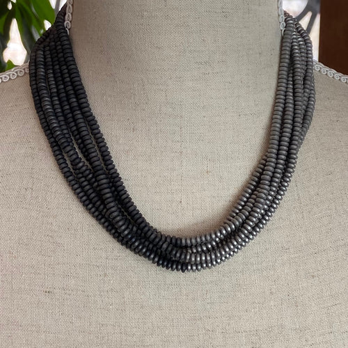 Slate Grey Necklace