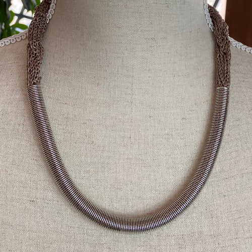 Mariah Taupe Necklace