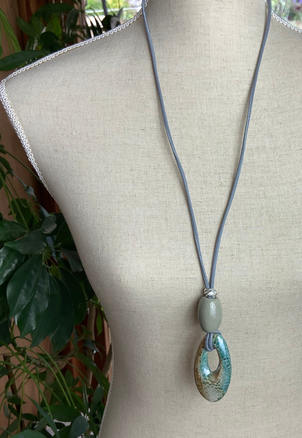 Libre Long Necklace