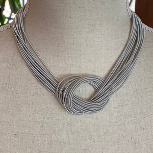 Silver  Magnetic Necklace
