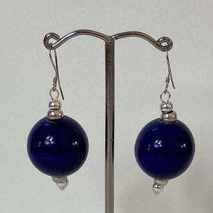 Blue Cosmic Earrings