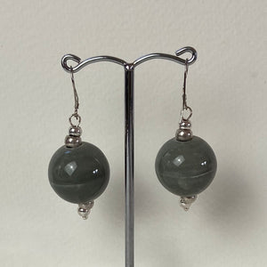 Grey Cosmic Earrings