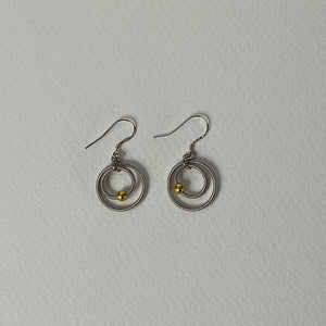 Silver and Gold Oona Earrings