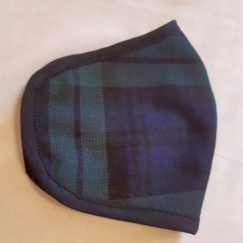 Tartan Face Mask - Black Watch