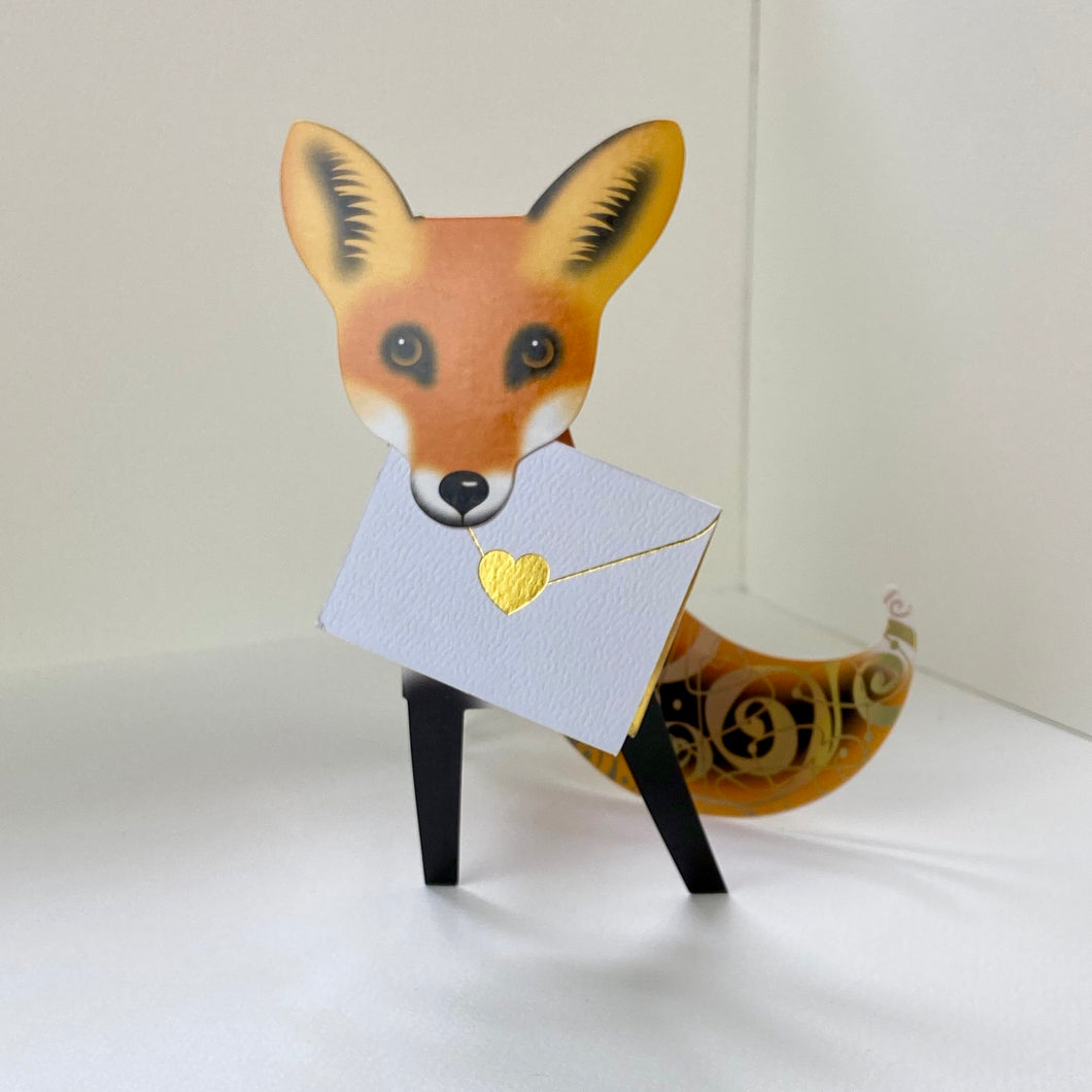 Foxy Pop up Card