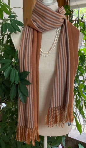 Cosy Stripe Scarf or Wrap