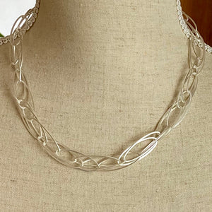 Stunning Silver Chain Necklace