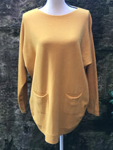 Load image into Gallery viewer, Mustard Pearl Back Jumper