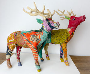 Large Patchwork Stag