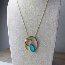 Load image into Gallery viewer, Aqua Twist Necklace