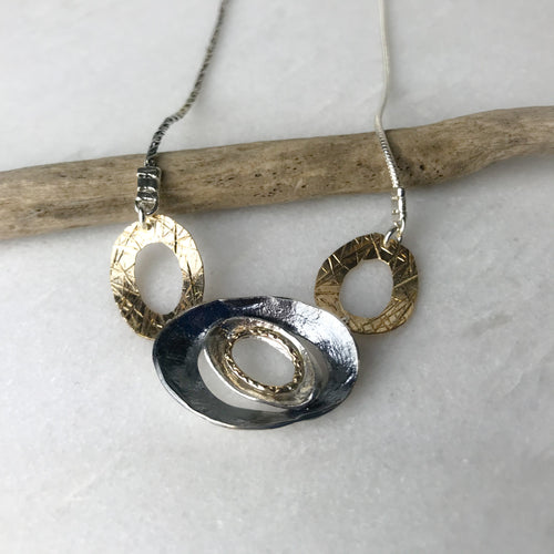 Three Ovals Necklace