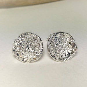 Silver Cup Earrings