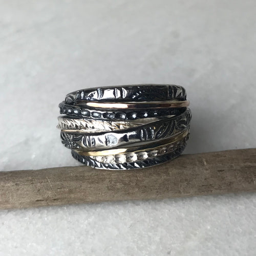 Silver Wound Ring