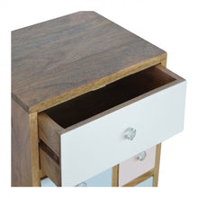Load image into Gallery viewer, Hand Painted Bedside Table