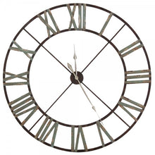 Load image into Gallery viewer, Large Iron Clock