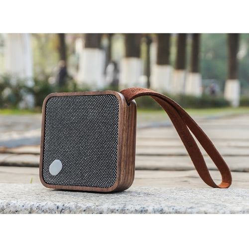 Walnut Pocket Bluetooth Speaker