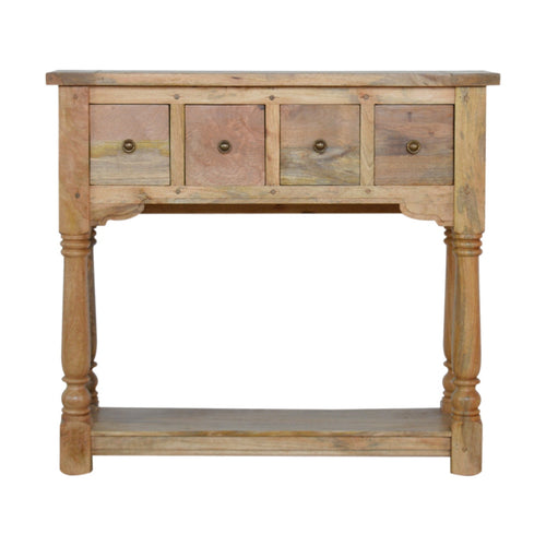 Granary Drawer Console - 4 Drawers
