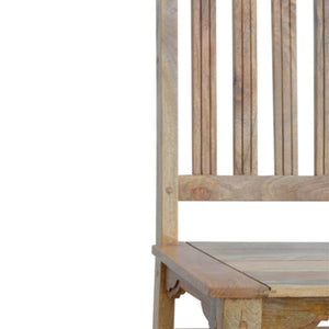 Granary Dining Chair with Wooden Seat