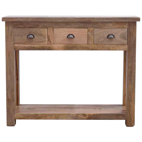 Shell Handel Console - 3 Drawers
