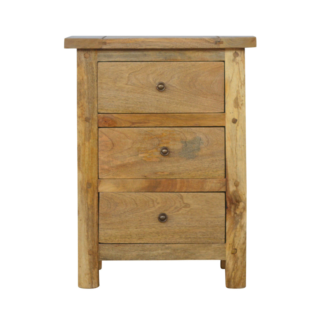Granary Drawer Bedside - 3 Drawers